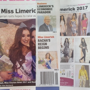 Miss Limerick collage